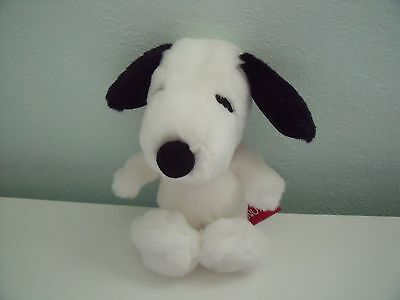Aurora Snoopy Form Peanuts Soft Toy Dog Approx 7 Inches