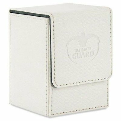 Ultimate Guard Flip Deck Case 100+ Special Edition Standard Size XENOSKIN™ White