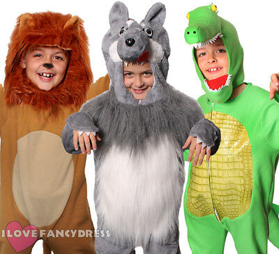Animal Fancy Dress Costume Childs Boys Girls World Book Day Choose Character