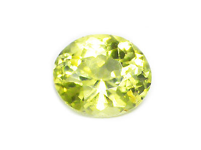 3.17 Cts Certified Loose Natural Oval Cut Medium Green Chrysoberyl Ceylon-10783