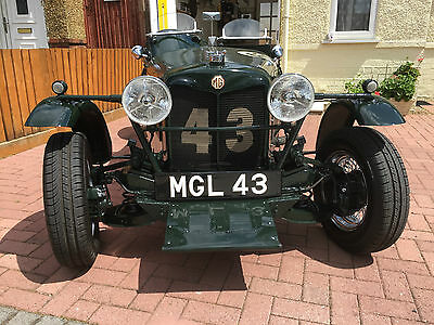 Mg Brooklands Special Sports - Rare One Off - Only One Made