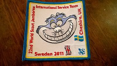 22nd world scout jamboree 2011 cheshire uk IST badge patch