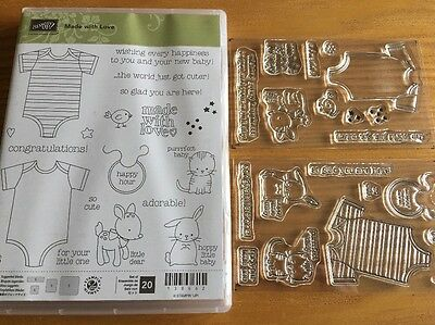Stampin Up Made With Love Stamp Set