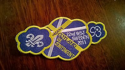 2nd world scout jamboree 2011 scotland IST badge patch uk contingent collectable