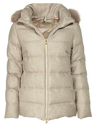 GEOSPIRIT Jacke GED0559 taupe Wolle Polyester