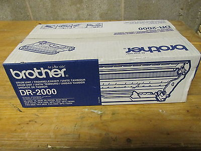 Brand New Genuine Brother DR 2000 Drum Unit - 100% for Charity