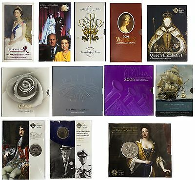 £5 Five Pound Brilliant Uncirculated Coin Packs / Presentation Packs Royal Mint