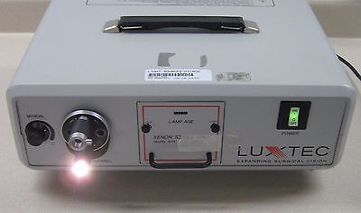 Luxtec Xenon Series 9000 Model 9175 Light Source - 3,156 Lamp Hours