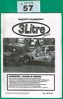 Banger Racing Magazine 3 Litre Issue 140