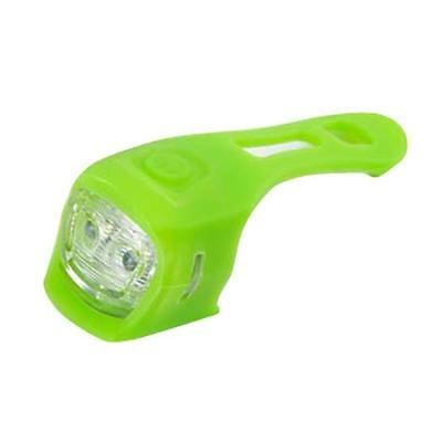 2016 New Silicone Bicycle Bike Light LED Warning Lights Lamp Green NEW