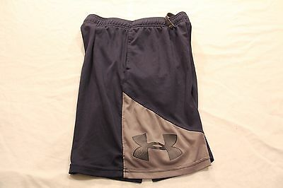 Under Armour Heat Gear Loose Athletic Shorts!  Navy Blue/gray!  Size Medium!