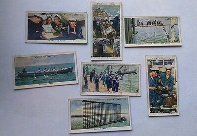 Wills's cigarette cards - life in the royal navy