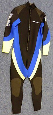 Beaver Florida 3Mm One Piece Semi Dry Wetsuit Brand New Size Large Slim