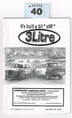 BANGER RACING MAGAZINE 3 LITRE ISSUE 143 or 144