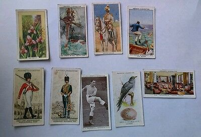 Cigarette cards - mixed