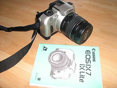 EXCELENT CANON EOSIX7 Camera V.G.C, and Instuction Book