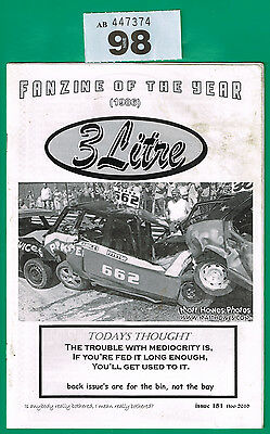 Banger Racing Magazine 3 Litre Issue 151