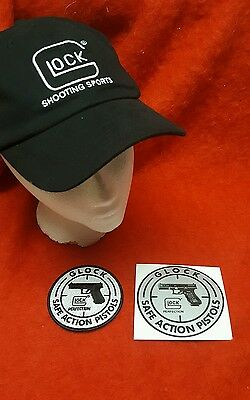 GLOCK -Hat, Patch &  Decal-LAW ENFORCEMENT-FREE SHIPPING