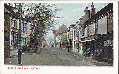 Old Town BEXHILL-ON-SEA Sussex England 1907-15 Pictorial Stationery Co. Postcard