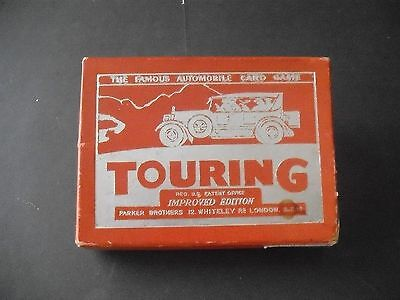 Parker Brothers 'Touring' Card Game. Complete With Instructions.