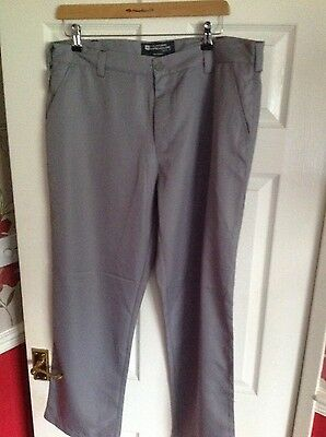 New Mountain warehouse ladies golf trousers size 16 NWOT grey