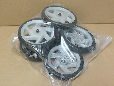 Graco LiteRiderClick Connect Stroller Replacement Wheel Set New