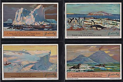 Liebig, The Antarctic (F1345 S1328) Set Of 6 Issued In 1937.
