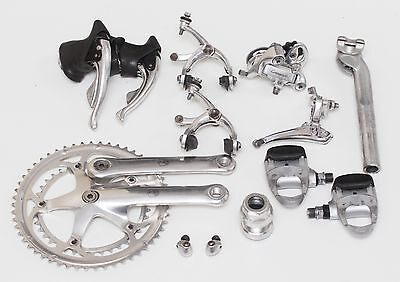 Campagnolo Chorus with Record ergopower 8 speed first gen. - vintage groupset