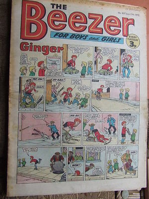 Beezer Comic No 857 (1972). See listing for much lower combined postage costs.