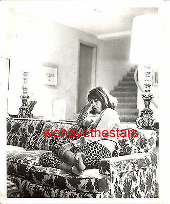 Vintage Natalie Wood GORGEOUS AT HOME 60s DOUBLEWEIGHT CANDID Portrait