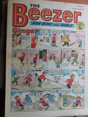 Beezer Comic No 860 (1972). See listing for much lower combined postage costs.