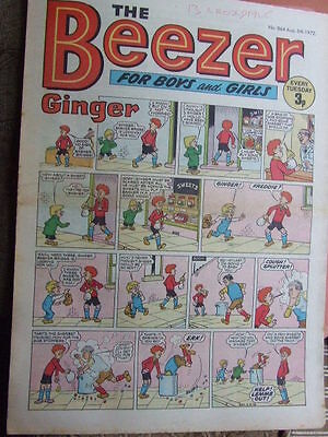 Beezer Comic No 864 (1972). See listing for much lower combined postage costs.