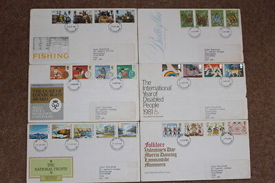 First day cover assortment
