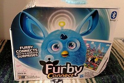 HASBRO FURBY CONNECT***BLUE***NEW IN SEALED BOX***FREE SHIP****Blutooth