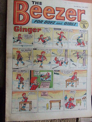 Beezer Comic No 883 (1972). See listing for much lower combined postage costs.