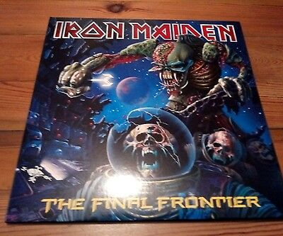 Iron Maiden The Final Frontier Vinyl Picture Disc x 2