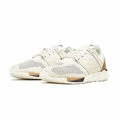 "Mens New Balance 247 Shoes | ""Luxe"" White 