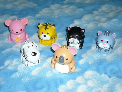 Lot 6 Interactive MICROPETS - MAX - PESTO - OTHERS