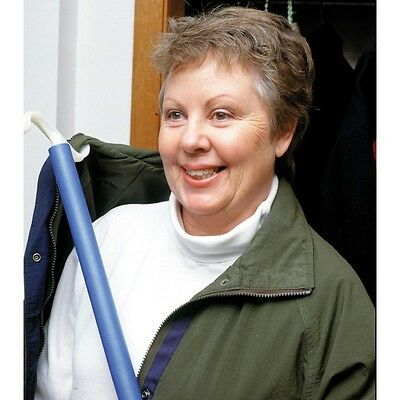 """Easy Dress Shoe Horn And Dressing Stick Hook 24""""- Disability Aids Active Living"""