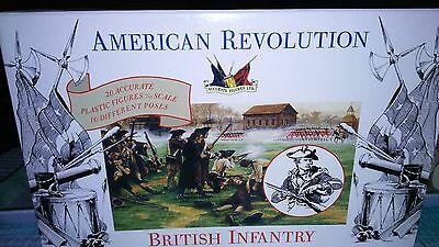 A Call to Arms - American Revolution War - British Infantry 1/32 scale Figures