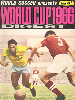 1966 WORLD SOCCER magazine WORLD CUP Digest preview edition