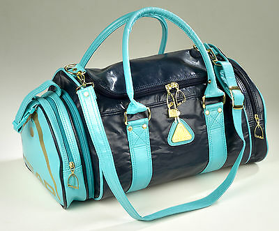 HEAD St Tropez holdall in Navy/Mint
