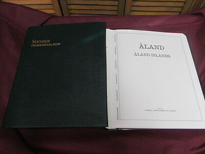 Aland Hingeless ablum from Stender 1984-2007 excellent condition