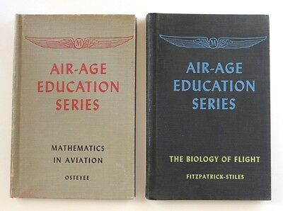 "WWII Air-Age Education Series ""Mathmatics In Aviation"" & ""The Biology Of Flight"""