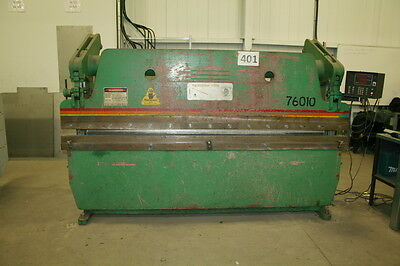 Accupress 76010 60 Ton X 10' Cnc Hydraulic Press Brake