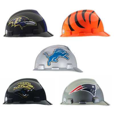 MSA Safety Officially Licensed NFL V-Gard Protective Caps