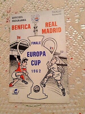 Benfica v Real Madrid 1962 European Cup Final In Amsterdam