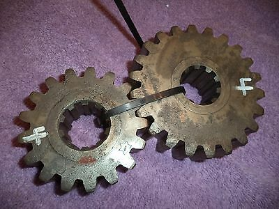 quick change gears set 4 ump imca dirt late model sprint car winters modified