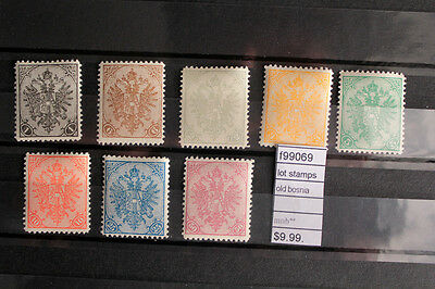 Lot Stamps Old Bosnia Mnh** (F99069)