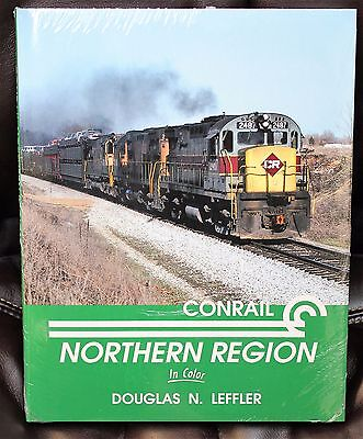MORNING SUN BOOKS - CONRAIL NORTHERN REGION In Color - HC 128 Pages